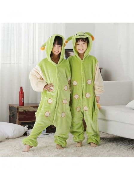 Caterpillar Onesie Kigurumi Pajamas Kids Animal Costumes For Teens