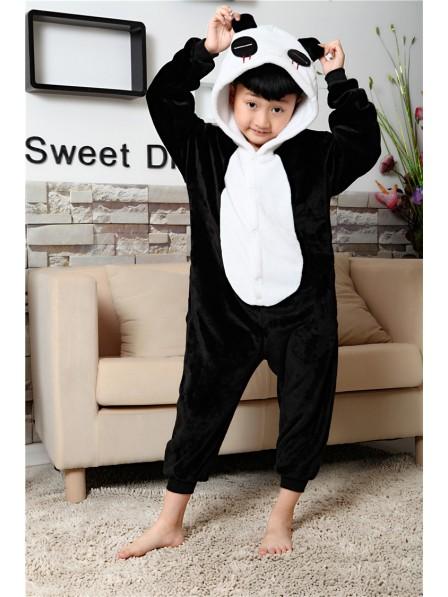 Pandas Onesie Kigurumi Pajamas Kids Animal Costumes For Teens
