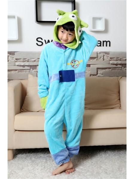 Aliens Onesie Kigurumi Pajamas Kids Animal Costumes For Teens