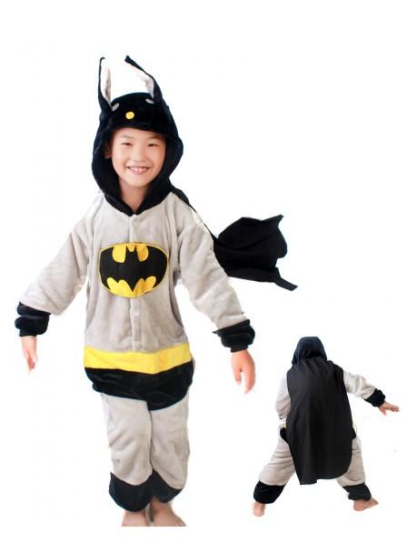 Batman Onesie Kigurumi Pajamas Kids Animal Costumes For Teens