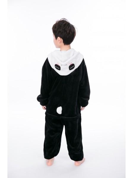 Panda Onesie Kigurumi Pajamas Kids Animal Costumes For Teens