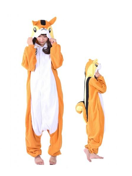 Chipmunk Kigurumi Onesie Pajama Animal Unisex Costumes