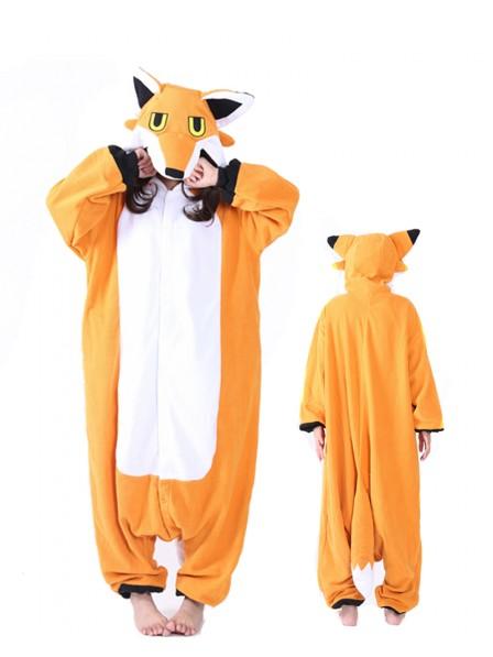 Mister Fox Kigurumi Onesie Pajamas Animal Unisex Costumes