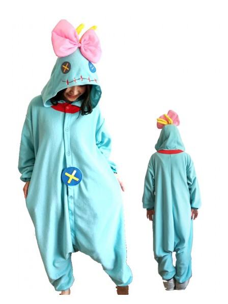 Lilo & Stitch Doll Kigurumi Onesie Pajamas Animal Unisex Costumes