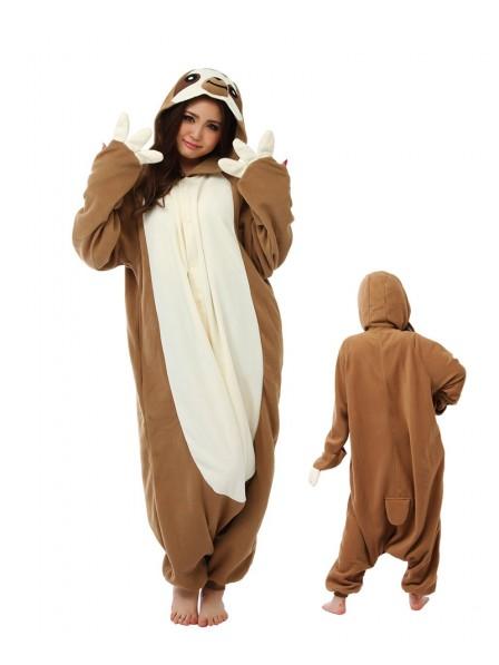 Sloth Kigurumi Onesie Pajamas Animal Unisex Costumes