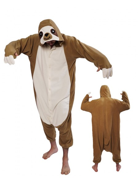Sloth Kigurumi Onesie Pajamas Animal Costumes