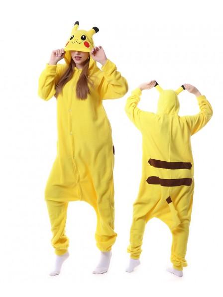 Pikachu Kigurumi Onesie Pajamas Animal Unisex Costumes