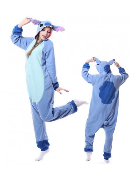 Blue Stitch Kigurumi Onesie Pajamas Animal Unisex Costumes