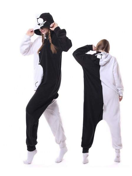 Monokuma Kigurumi Onesie Pajamas Animal Unisex Costumes