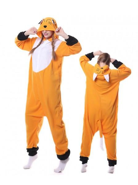 Japanese Red Fox Kigurumi Onesie Pajamas Animal Unisex Costumes