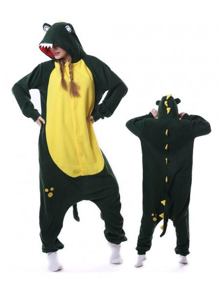 Crocodile Kigurumi Onesie Pajamas Animal Unisex Costumes