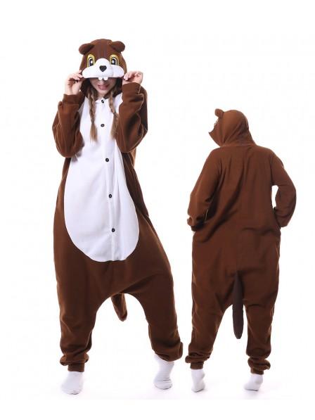 Chipmunks Kigurumi Onesie Pajamas Animal Unisex Costumes