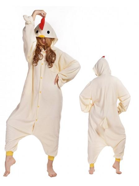 Cock Kigurumi Onesie Pajamas Polar Fleece Animal Unisex Costumes