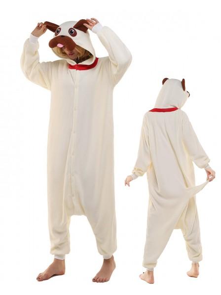 Pug Kigurumi Onesie Pajamas Polar Fleece Animal Unisex Costumes