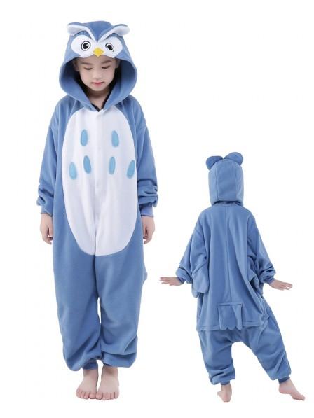 Owl Onesie Kids Kigurumi Polar Fleece Animal Costumes For Teens