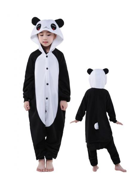 Pandas Onesie Kids Kigurumi Polar Fleece Animal Costumes For Teens
